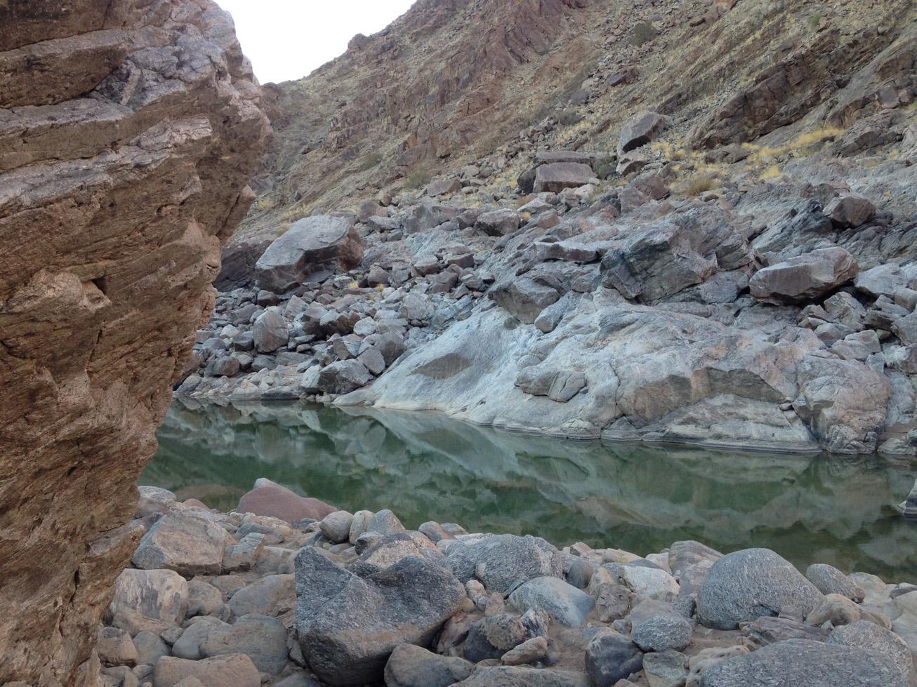 Fish River Canyon Hike 10
