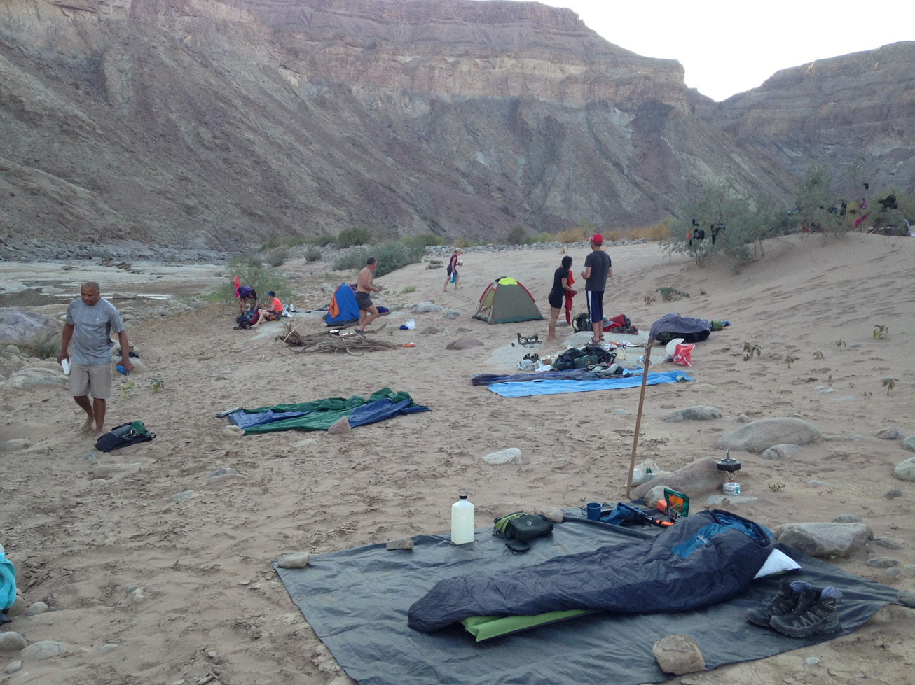 Fish River Canyon Hike 13