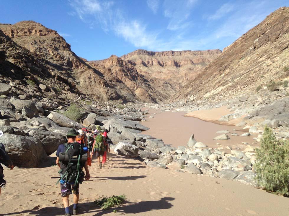 Fish River Canyon Hike 5