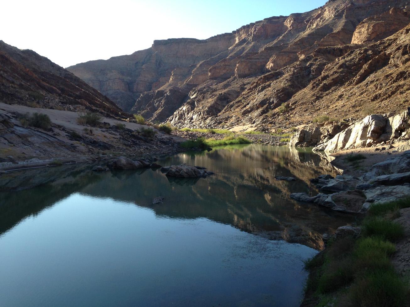 Fish River Canyon Hike 9